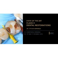 State of the Art Class II Dental Restorations 10-11 martie 2018
