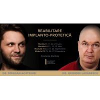 Reabilitarea implanto-protetica 21-23.06.2019