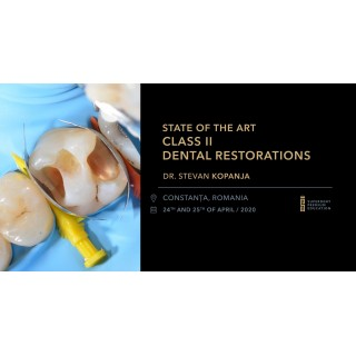 State of the Art Class II Dental Restorations 24-25 aprilie 2020